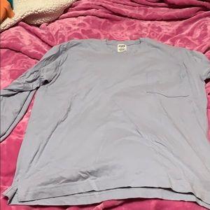 Pink long sleeve shirt